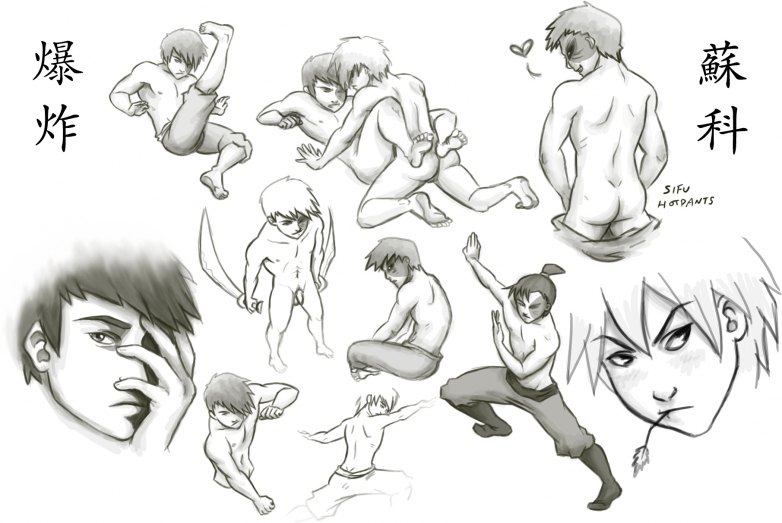airbender last avatar the jet from Attack on titan nude mikasa