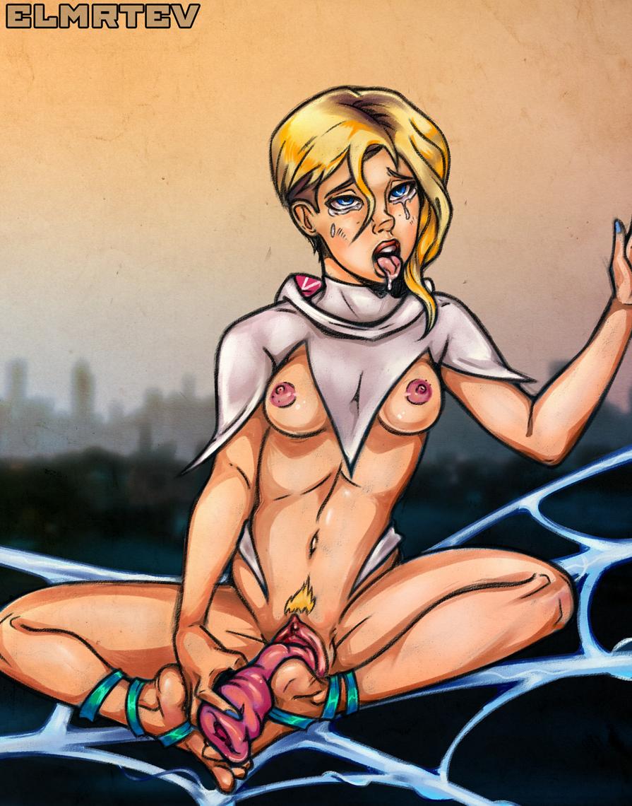 gwen verse spider into the porn Vigilante boku no hero academia