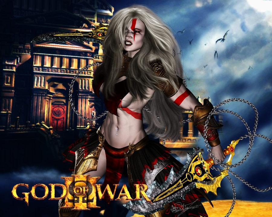 god of 4 war gondul Mega man x dive rico