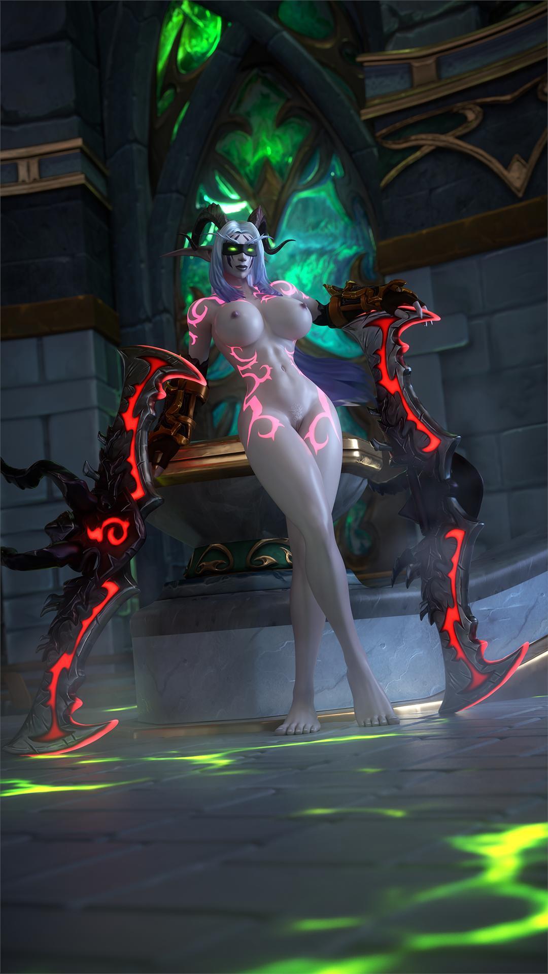 female demon hunter elf night Agarest generations of war 2 uncensor
