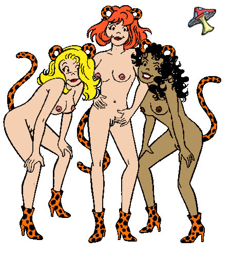 the and pussycats josie hentai Naked princess peach and daisy