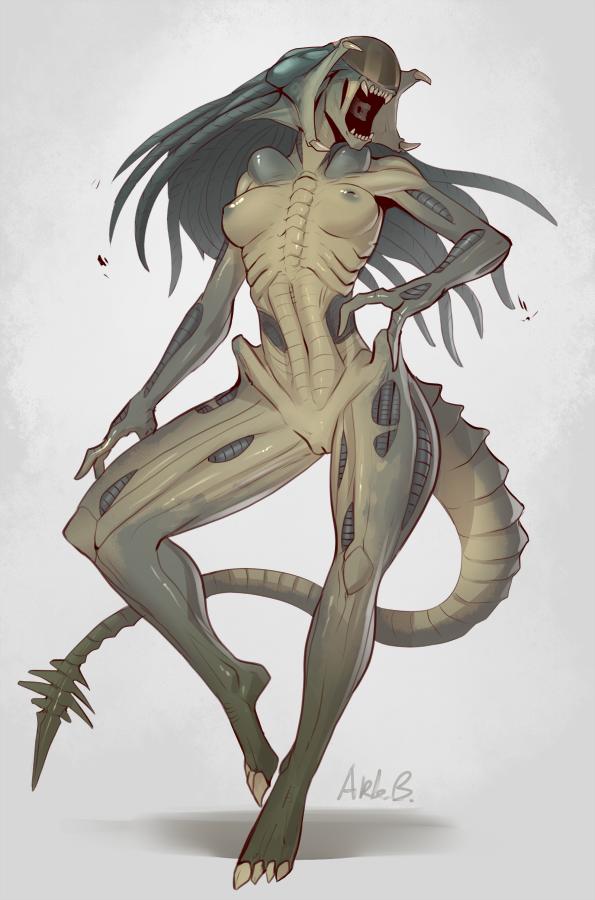 alien predator vs The grim adventures of billy and mandy xxx