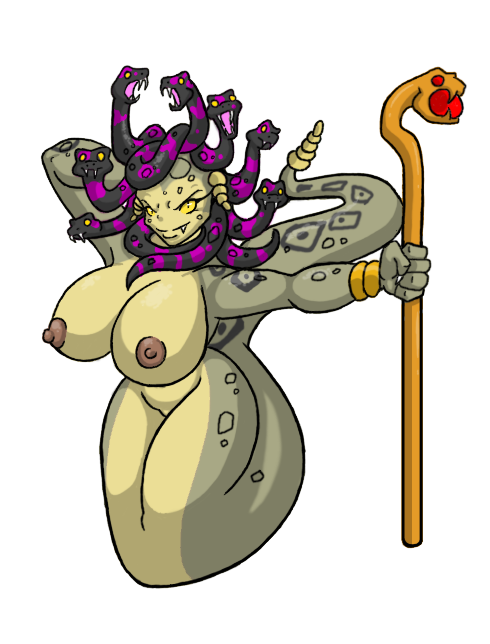 have does for snakes medusa pubes How not to summon a demon lord gelbooru