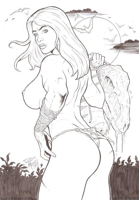 the devil shanna cosplay she Ben 10 mass effect fanfiction