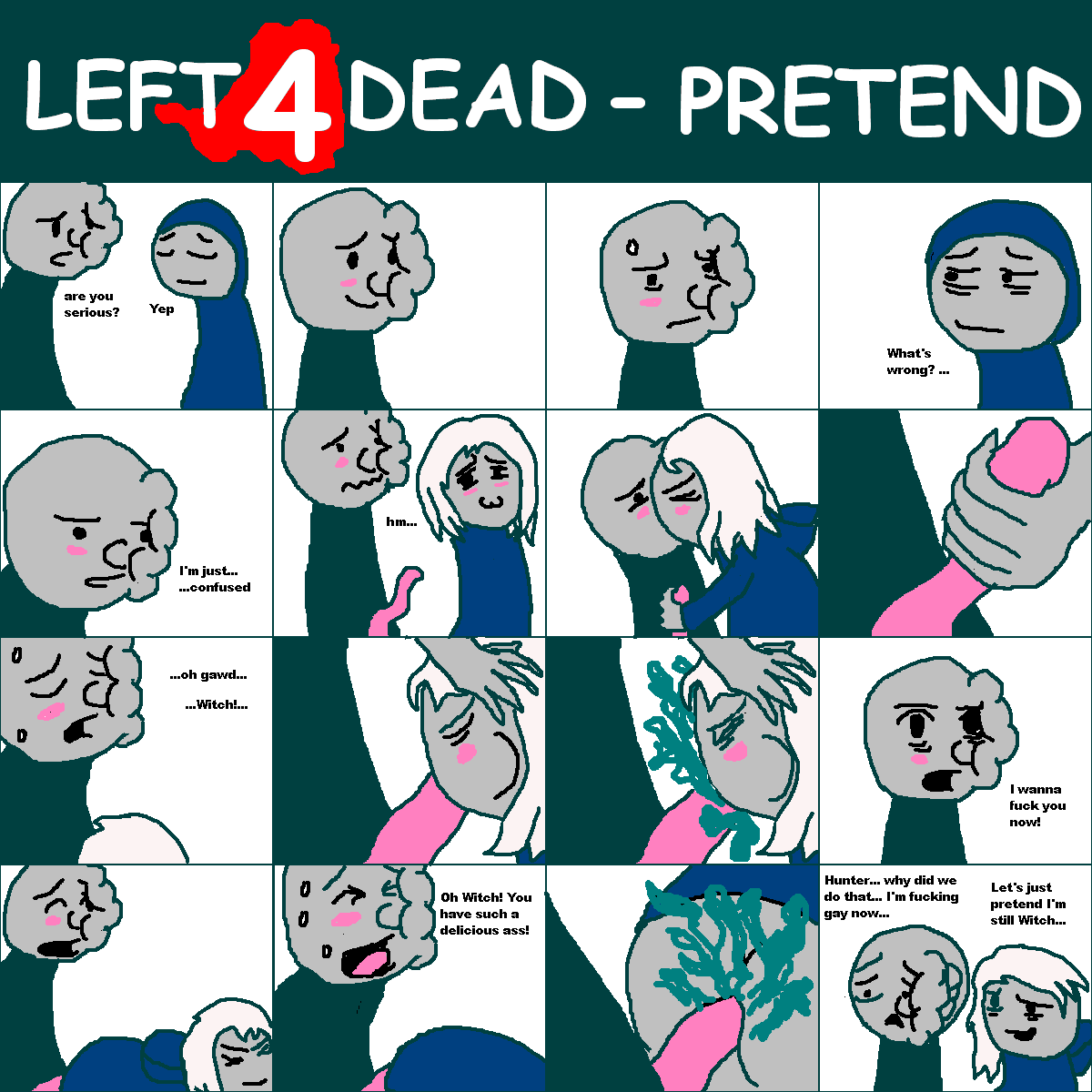 2 left rochelle 4 dead Parasite in city animated gifs