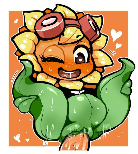 plants solar heroes flare zombies vs Joshi ochi! 2-kai kara onnanoko