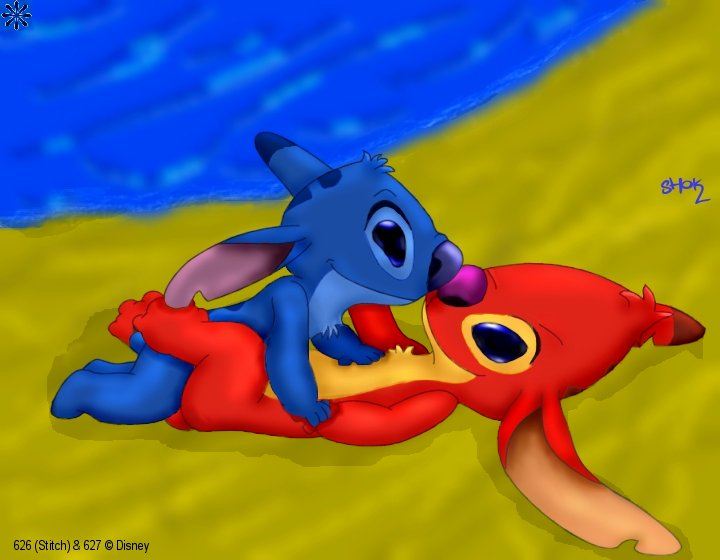 lilo pictures and experiments and list stitch Bloodstained ritual of the night bunny morphosis