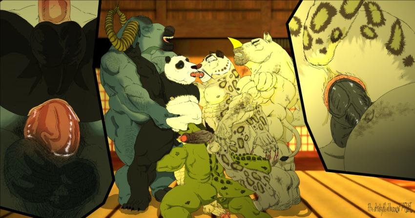 panda tigress kung fu nude Jake and the neverland pirates hentai