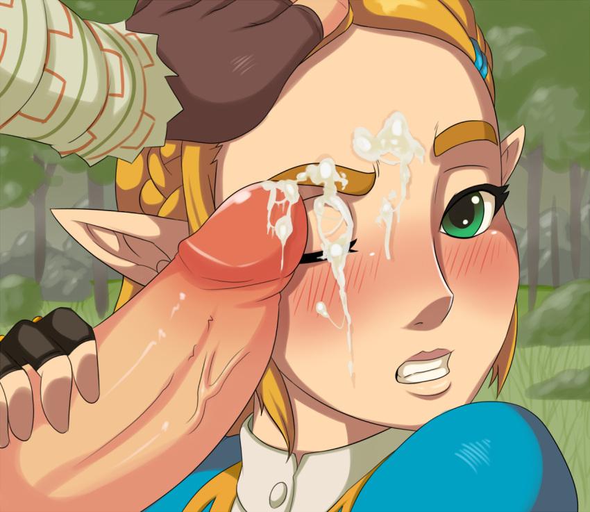 gerudo breath of the girl wild Monster hunter world odogaron armor female