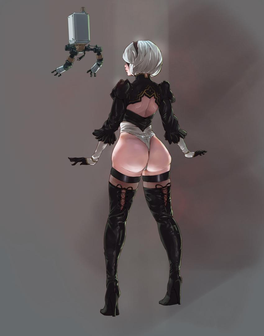 automata nier 2b Dragon ball z androide 18