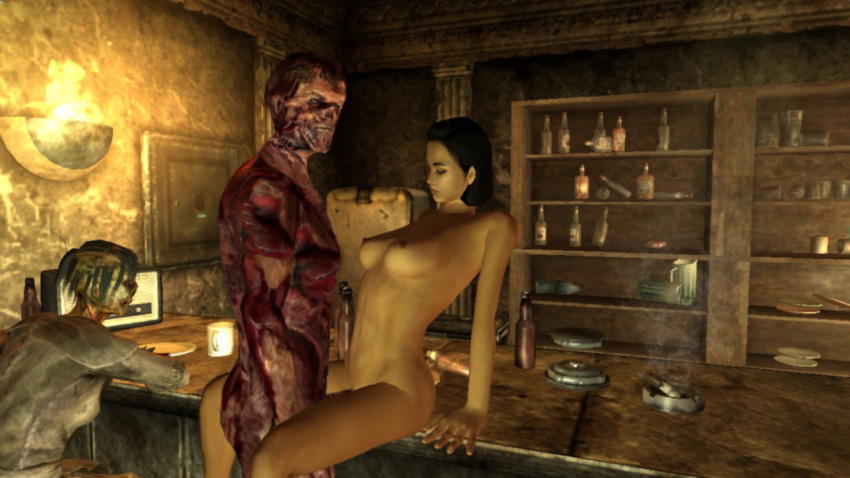 mod sex fallout 4 deathclaw Panty and stocking with garterbelt