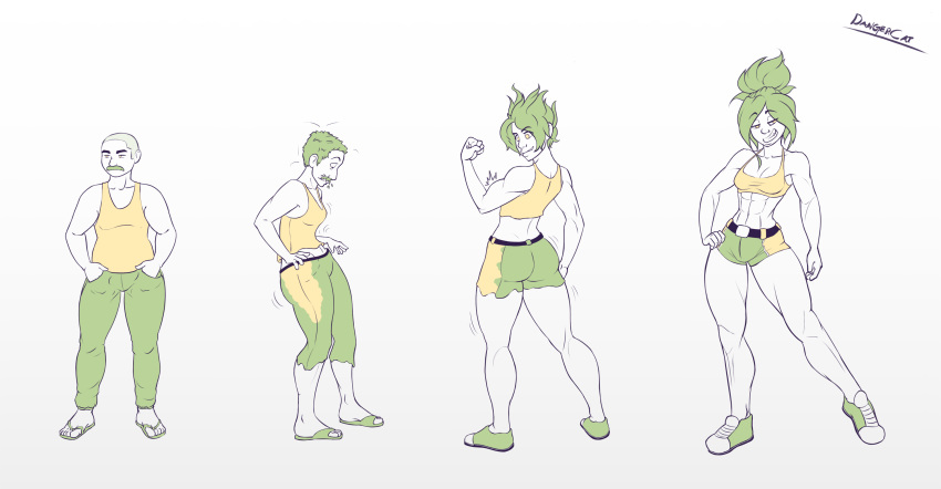 transformation female to male gif Monster hunter world