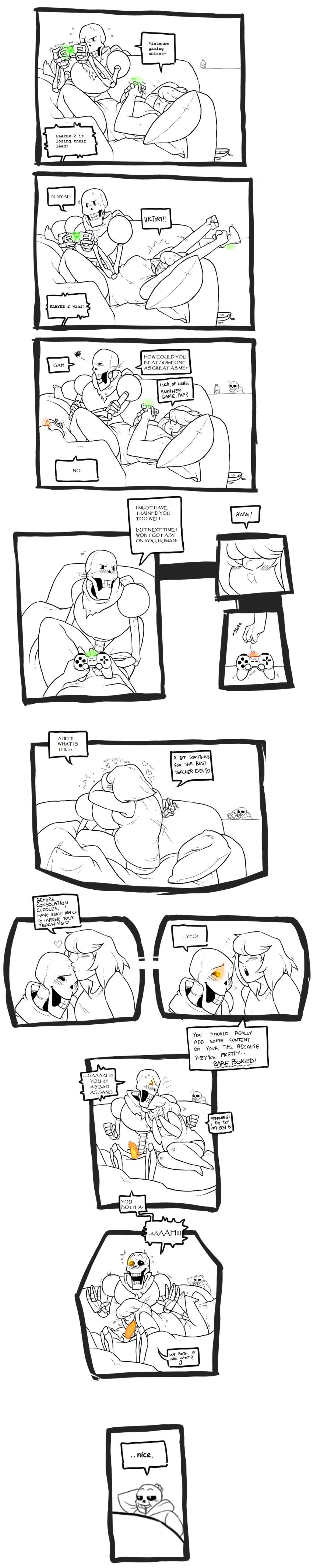 comic x sans sex frisk Sekiro emma the gentle blade