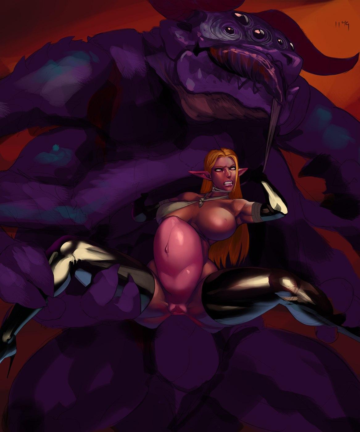queen demon webtoon and mage Madan no au to vanadis