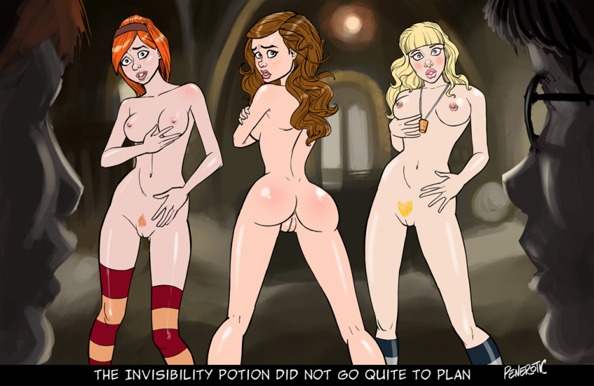 and nude hermione potter harry granger What is happy from fairy tail